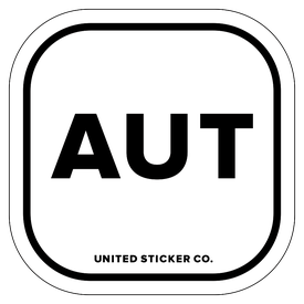 Badge_Lettering_Places_Austria [ AUT ]_Vinyl_Sticker