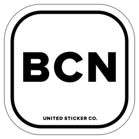 Badge_Lettering_Places_Barcelona [ BCN ]_Vinyl_Sticker