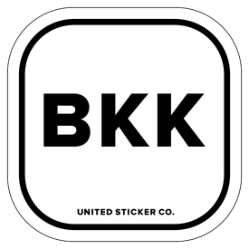 Badge_Lettering_Places_Bangkok [ BKK ]_Vinyl_Sticker