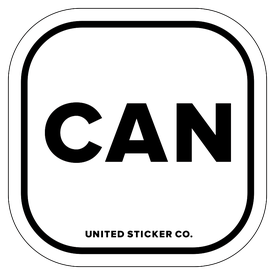 Badge_Lettering_Places_Canada [ CAN ]_Vinyl_Sticker