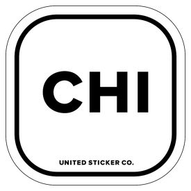 Badge_Lettering_Places_Chicago [ CHI ]_Vinyl_Sticker