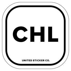 Badge_Lettering_Places_Chile [ CHL ]_Vinyl_Sticker