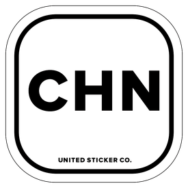 Badge_Lettering_Places_China [ CHN ]_Vinyl_Sticker