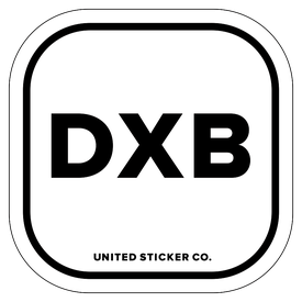 Badge_Lettering_Places_Dubai [ DXB ]_Vinyl_Sticker