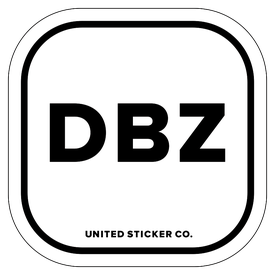 Badge_Lettering_Words & Phrases_Dragon Ball Z [ DBZ ]_Vinyl_Sticker