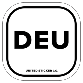 Badge_Lettering_Places_Germany [ DEU ]_Vinyl_Sticker
