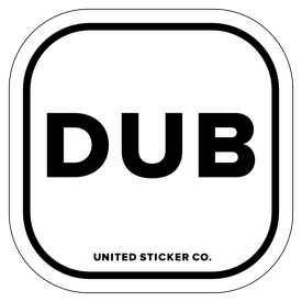 Badge_Lettering_Places_Dublin [ DUB ]_Vinyl_Sticker