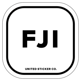 Badge_Lettering_Places_Fiji [ FJI ]_Vinyl_Sticker
