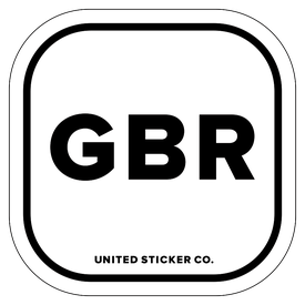 Badge_Lettering_Places_Great Britain [ GBR ]_Vinyl_Sticker