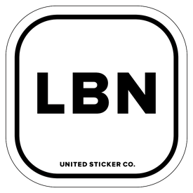 Badge_Lettering_Places_Lenanon [ LBN ]_Vinyl_Sticker