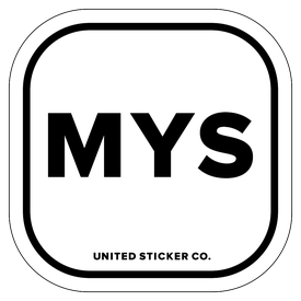 Badge_Lettering_Places_Malaysia [ MYS ]_Vinyl_Sticker