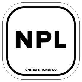 Badge_Lettering_Places_Nepal [ NPL ]_Vinyl_Sticker
