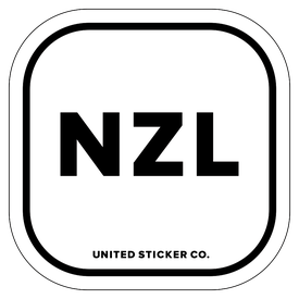 Badge_Lettering_Places_New Zealand [ NZL ]_Vinyl_Sticker