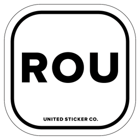 Badge_Lettering_Places_Russia [ ROU ]_Vinyl_Sticker