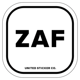 Badge_Lettering_Places_South Africa [ ZAF ]_Vinyl_Sticker