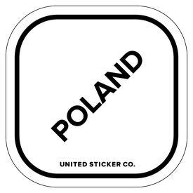 Badge_Lettering_Places_Poland_Vinyl_Sticker