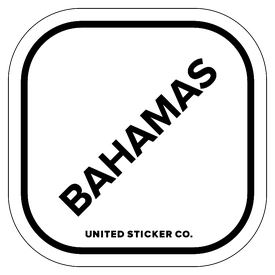 Badge_Lettering_Places_Bahamas_Vinyl_Sticker