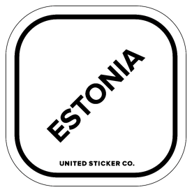 Badge_Lettering_Places_Estonia_Vinyl_Sticker