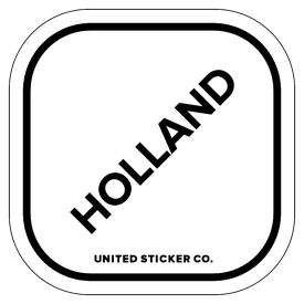 Badge_Lettering_Places_Holland_Vinyl_Sticker