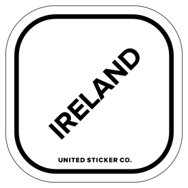 Badge_Lettering_Places_Ireland_Vinyl_Sticker