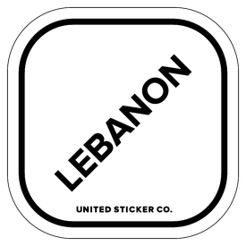 Badge_Lettering_Places_Lebanon_Vinyl_Sticker