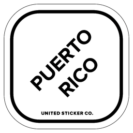 Badge_Lettering_Places_Puerto Rico_Vinyl_Sticker
