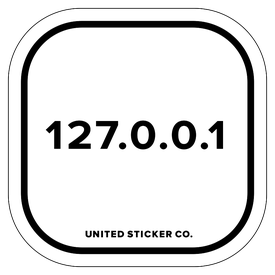 Badge_Numbers_Tech & Toys_127.0.0.1_Vinyl_Sticker