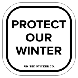 Badge_Lettering_Words & Phrases_[ Protect Winter ]_Vinyl_Sticker