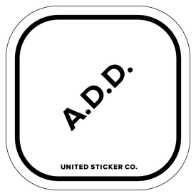 Badge_Icon_Awareness_A.D.D._Vinyl_Sticker
