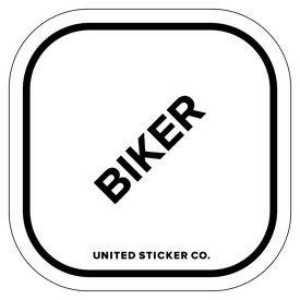 Badge_Lettering_Words & Phrases_[ Biker ]_Vinyl_Sticker