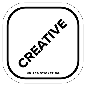 Badge_Lettering_Words & Phrases_[ Creative ]_Vinyl_Sticker