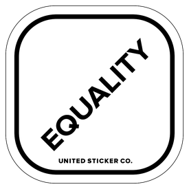 Badge_Lettering_Words & Phrases_[ Equality ]_Vinyl_Sticker