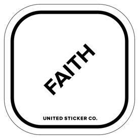 Badge_Lettering_Words & Phrases_[ Faith ]_Vinyl_Sticker