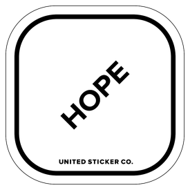 Badge_Lettering_Words & Phrases_[ Hope ]_Vinyl_Sticker