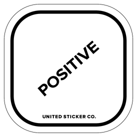 Badge_Lettering_Words & Phrases_[ Positive ]_Vinyl_Sticker