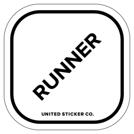 Badge_Lettering_Words & Phrases_[ Runner ]_Vinyl_Sticker