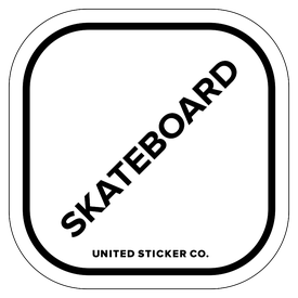 Badge_Lettering_Words & Phrases_[ Skateboard ]_Vinyl_Sticker