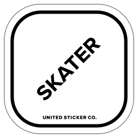 Badge_Lettering_Words & Phrases_[ Skater ]_Vinyl_Sticker