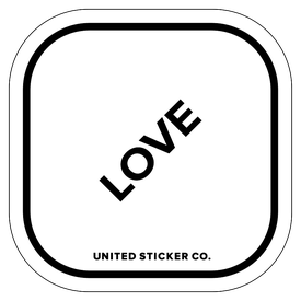 Badge_Lettering_Words & Phrases_[ Love ]_Vinyl_Sticker
