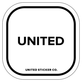 Badge_Lettering_Words & Phrases_[ United ]_Vinyl_Sticker