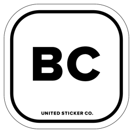 Badge_Lettering_Places_British Columbia [ BC ]_Vinyl_Sticker