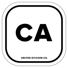 Badge_Lettering_Places_California [ CA ]_Vinyl_Sticker