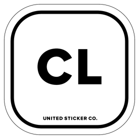 Badge_Lettering_Places_Chile [ CL ]_Vinyl_Sticker