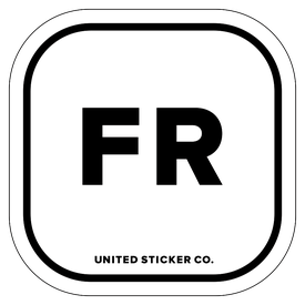 Badge_Lettering_Places_France [ FR ]_Vinyl_Sticker