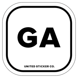 Badge_Lettering_Places_Georgia [ GA ]_Vinyl_Sticker