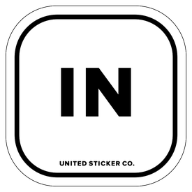 Badge_Lettering_Places_Indiana [ IN ]_Vinyl_Sticker