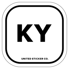 Badge_Lettering_Places_Kentucky [ KY ]_Vinyl_Sticker