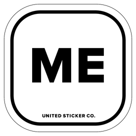 Badge_Lettering_Places_Maine [ ME ]_Vinyl_Sticker
