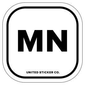 Badge_Lettering_Places_Minnesota [ MN ]_Vinyl_Sticker