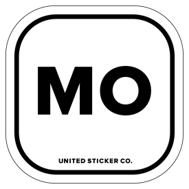 Badge_Lettering_Places_Missouri [ MO ]_Vinyl_Sticker